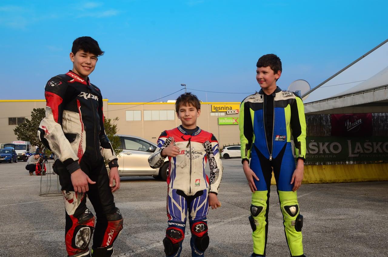 Le giovani promesse slovene del campionato velocità – Prima parte