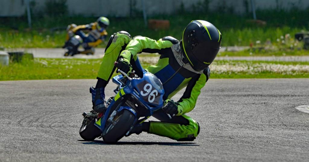 Dirka CIV minimoto Open Ferrara