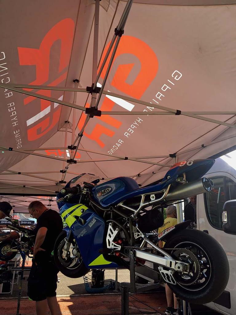 Sotto la tenda GHR