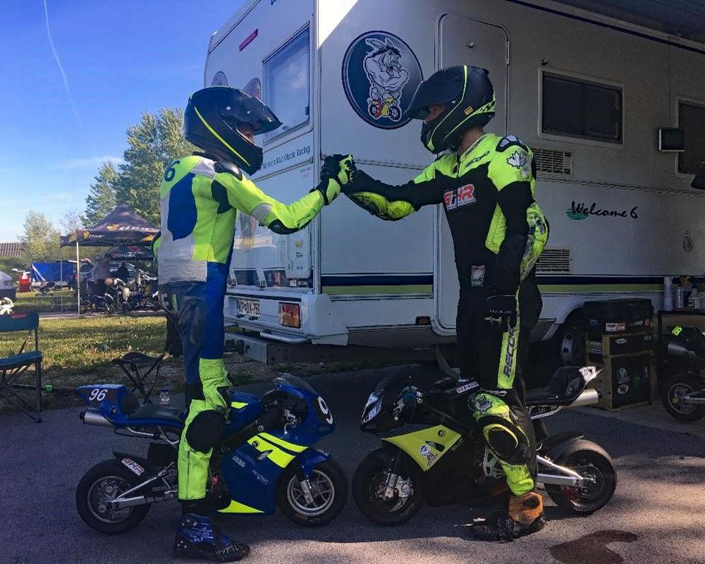 Slovenja vas 2021 minimoto - Tadej in Jan